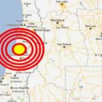 Chile: Dos sismos de magnitud 6.2 y 4.7 sacude cinco regiones norteñas