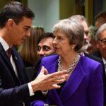 Sánchez mantiene su oposición al acuerdo del Brexit por Gibraltar