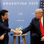 Trump reiteró a premier de Japón decisión de mantener presión a Corea del Norte (VIDEO)