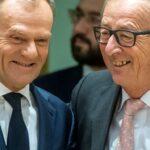 Tusk y Juncker garantizan a España poder de decisión futuro sobre Gibraltar