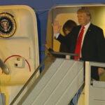 Argentina: Presidente Trump llegó esta noche para participar en la Cumbre del G-20 (VIDEO)