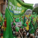 Los Verdes alemanes repuntan en los sondeos y se acercan a los conservadores