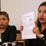 Arlette Contreras llevará su denuncia a instancias internacionales