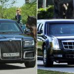 """""""Aurus"""" contra la """"Bestia"""": las limusinas de Vladimir Putin y Donald Trump"""