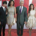 Catherine Zeta Jones, Michael Douglas y sus hijos despiden el año en Cuba