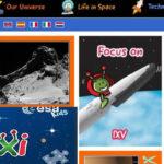 Agencia Espacial Europea renueva su web para niños y educadores