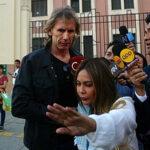 DT Ricardo Gareca visita a Edwin Oviedo en la Prefectura de Lima