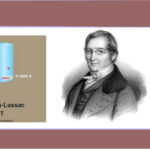 Efemérides del 6 de diciembre: nace Joseph Louis Gay-Lussac