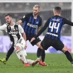 Serie A italiana: Juventus en la 14 jornada derrota 1-0 al Inter de Milán