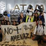 Latam Airlines: Comenzó huelga de trabajadores hasta el fin de semana (Fotos)