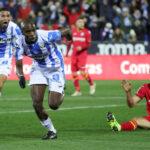 Liga Santander: Leganés se aleja del descenso al empatar 1-1 con el Getafe