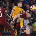 Premier League: Liverpool en 7ma victoria sucesiva gana 2-0 al Wolverhampton