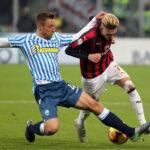Serie A italiana: Milan en último partido de la 19ª jornada derrota 2-1 al Spal