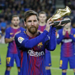 Lionel Messi gana su quinta Bota de Oro con 34 goles anotados