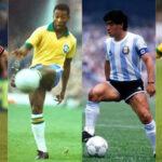 Brasil: 'Pelé' considera a Maradona mejor que Messi y cuestiona a Neymar