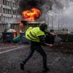 París: Protestas dejan 288 detenidos, más de 100 heridos y 187 incendios