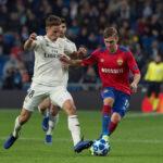 Champions League: CSKA Moscú de visita derrota 3-0 al Real Madrid