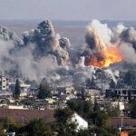 Coalición encabezada por EEUU lanza misiles contra ejército sirio