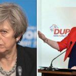 """El DUP romperá el acuerdo de Gobierno con May si no renegocia el """"brexit"""""""
