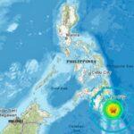 Alerta de tsunami por un terremoto de magnitud 6.9 en el sur de Filipinas