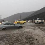 California:Tormenta invernal Diego causa inundaciones y avalanchas en autopistas (VIDEO)