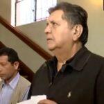 Alan García Pérez dice que entregó pasaporte a Fiscalía (VIDEO)
