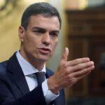 Derecha hostiga al gobierno socialista español por Cataluña