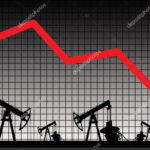 Petróleo de Texas continúa en caída a media jornada y contratos de junio caen 44%