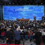 Putin acusa a EEUU de elevar riesgo deguerra nuclear al retirarse de tratados sobre armas (VIDEO)