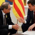Sánchez y el presidente regional catalán se reunirán mañana en Barcelona