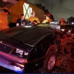 EEUU: Tren rápido Brightline arrolla auto y sus 2 ocupantes se salvan heridos, uno de gravedad