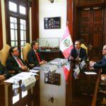 Reformas: Vizcarra dialogó con titulares del Congreso y TC (VIDEO)