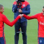 Neymar y Mbappé retoman sus entrenamientos en el Paris Saint-Germain