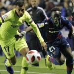 Copa del Rey: En partido de ida por octavos de final Barcelona cae 2-1 ante Levante