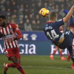 Liga Santander: Atlético de Madrid derrota por 3-0 al colero Huesca