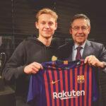 Frenkie de Jong: Barcelona fichó al centrocampista holandés del Ajax