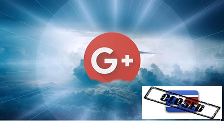 El cierre definitivo de Google+ será el 2 de abril