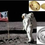 Conmemoran en monedas los 50 años de la llegada del hombre a la Luna
