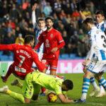Liga Santander: Real Sociedad de local sufre para ganar (3-2) al Espanyol