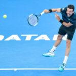 ATP de Doha: Djokovic-Bautista y Cecchinato-Berdych disputan las semifinales