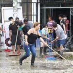 San Juan de Lurigancho: Fumigan viviendas afectadas por aniego (VIDEO)