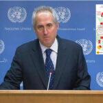 ONU señala que no ha tenido contacto con autoproclamado presidente Juan Guaidó