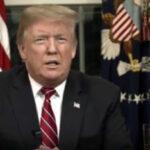 Trump insiste en reclamar a los demócratas dinero para financiar muro con México (VIDEO)