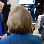 """Trump se va de reunión con demócratas por ser una """"pérdida total de tiempo"""""""