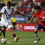 Sudamericano Sub-20: Venezuela lidera el Grupo A al vencer 2-1 a Chile