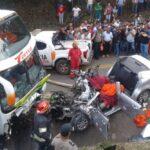 Seis muertos, incluidos cinco menores deportistas, en accidente en San Martín