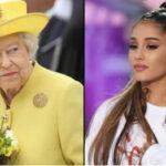 """Reino Unido: Cantante Ariana Grande rechazó título de """"Dama"""" que le ofreció la reina Isabel II (VIDEO)"""