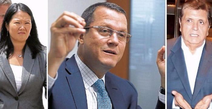 Fiscal Pérez advierte preocupación por filtración de acuerdo con Odebrecht