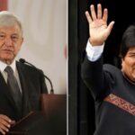 "Morales felicita a México por dejar sin apoyo ""actos de golpismo diplomático"""