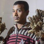 """El """"hombre árbol"""" de Bangladesh vuelve al hospital sin esperanzas de curación"""